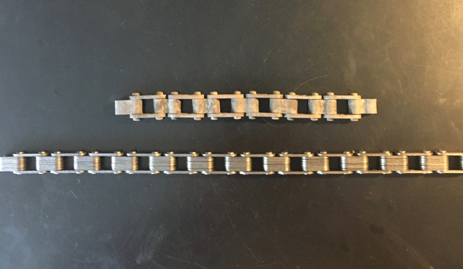New (old) 1 Inch Attached Block Chain (Bottom)