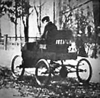 George Foote Foss Driving the Streets of Sherbrooke