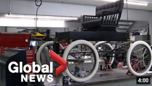 Global News - Recreating Fossmobile